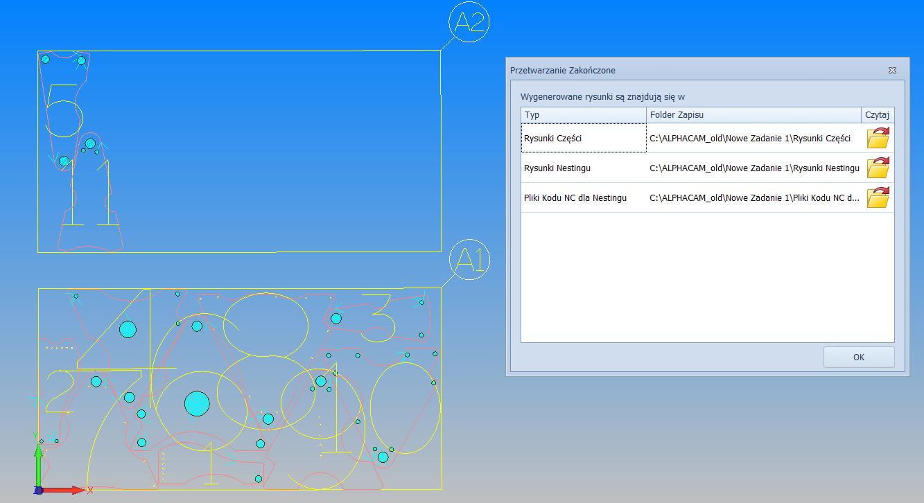 Alphacam - Menadżer automatyzacji