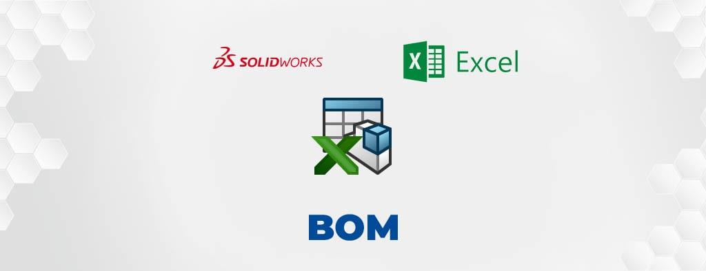 Eksport listy materiałowej BOM z SOLIDWORKS do Excela