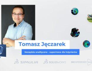 Tomasz Jęczarek - prezentacja video - narzędzia analityczne - supermoce dla inżynierów