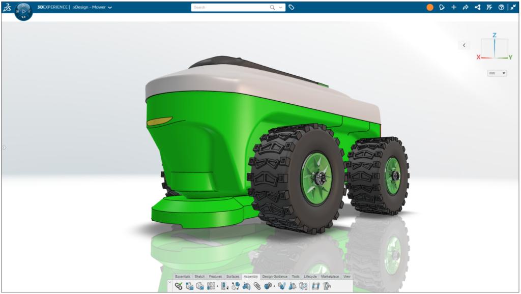 3DEXPERIENCE Bardziej realistyczne środowiska projektowe
