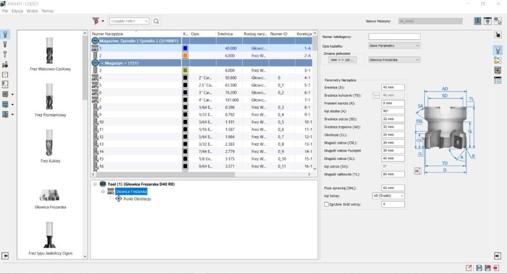 SOLIDCAM 2021 Toolkit - zestaw narzędzi