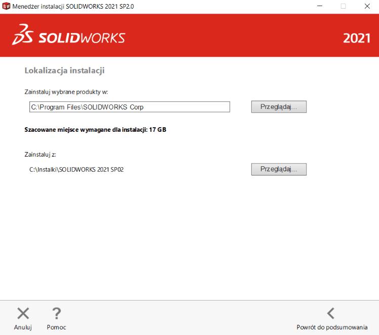 Instrukcja instalacji SOLIDWORKS krok 8
