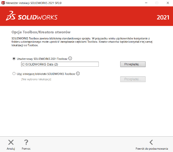 Instrukcja instalacji SOLIDWORKS krok 9