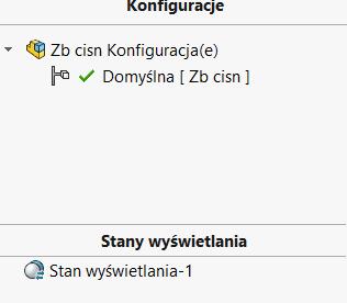 Szybkie wybory w SOLIDWORKS - konfiguracje
