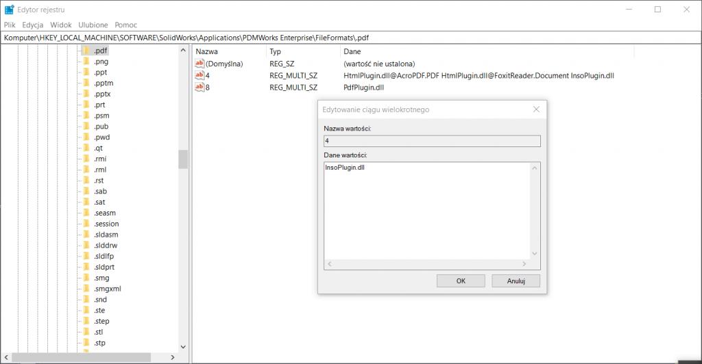 Jak rozwiązać problem podglądu pliku pdf w SOLIDWORKS PDM