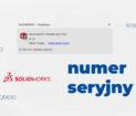 SOLIDWORKS numer seryjny - co oznacza jak do odczytać