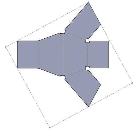 Przykład konwersja na arkusz blachy