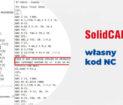 SOLIDCAM - własna linijka kodu NC